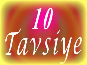 10-tavsiye